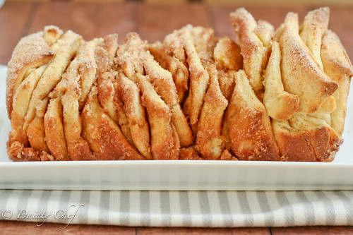Cinnamon Sugar Pull-Apart Bread | Dainty Chef