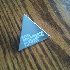 My STEMnet ambassador badge arrived