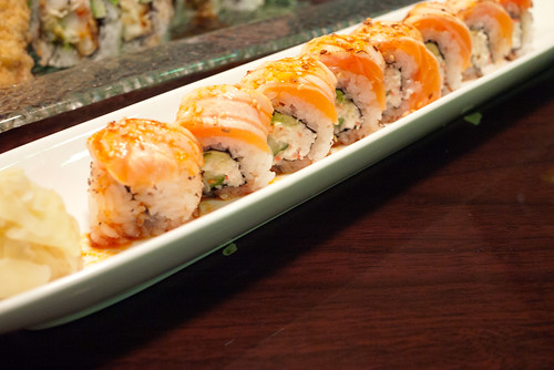 Koto San's Seared Salmon Roll @ Koto Sushi