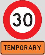 纽西兰较特别的交通告示牌