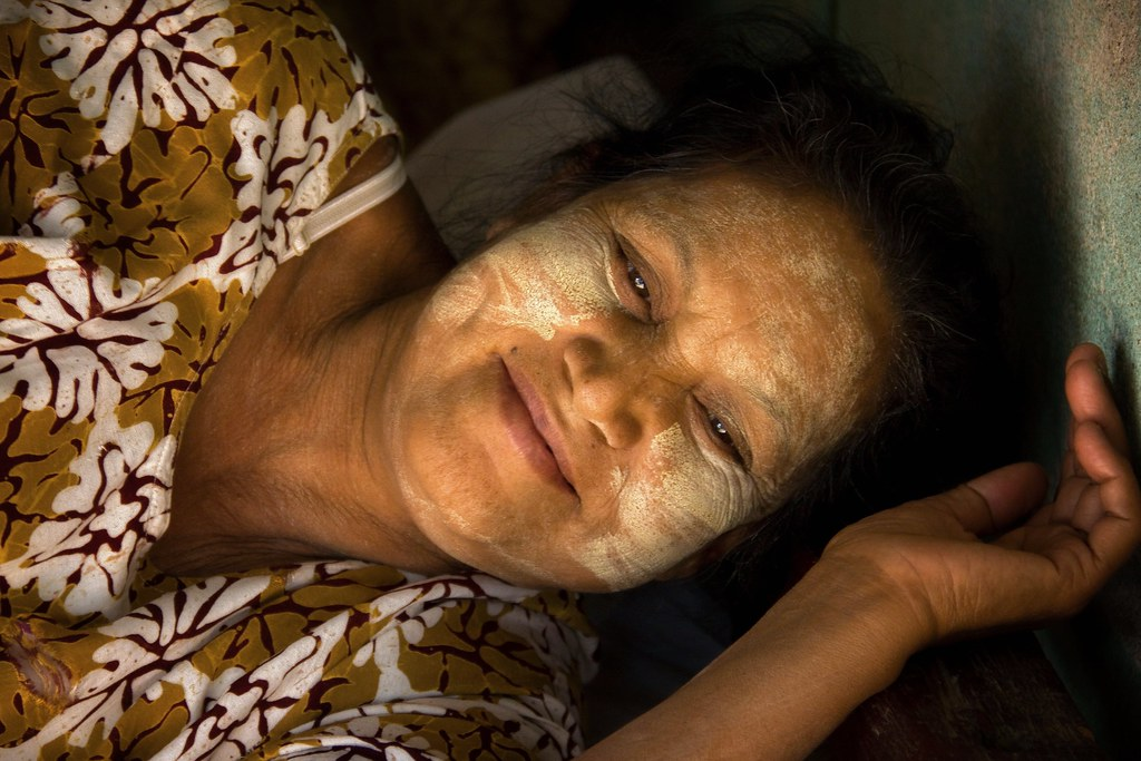 Portrait Of A Burmese Mum