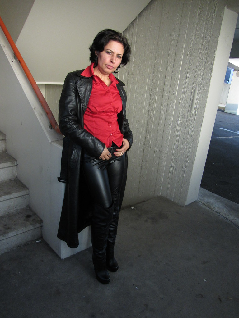 Cool Women In Leather Pants On Flickr The World39s Best Photos By Lanerosa