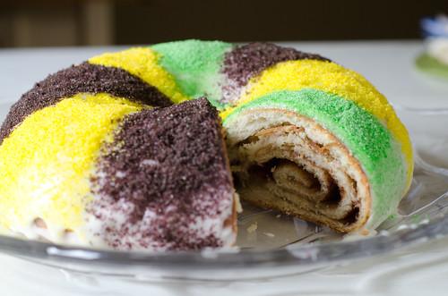Mardi Gras King Cake 8