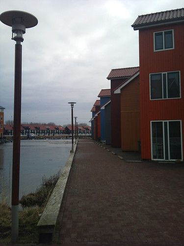 Row of houses by XPeria2Day