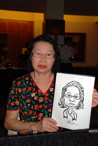 caricature live sketching for Rio Tinto Dinner & Dance - 9