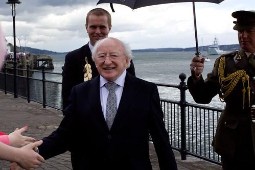President Michail D. Higgins.