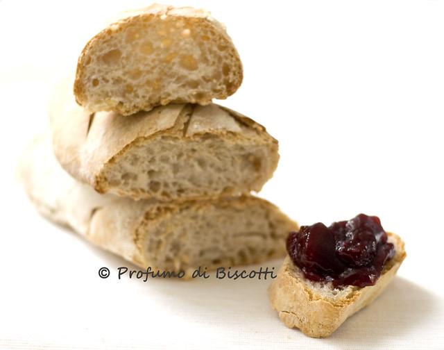 baguette con lievito madre (con autolisi)