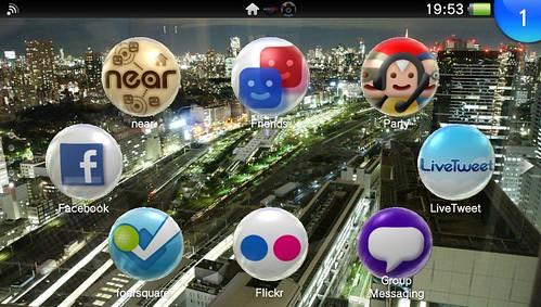 PS Vita menus