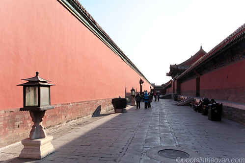 Back Alleyways in the Forbidden City
