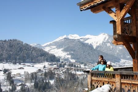 Lyžování ve francouzských Alpách