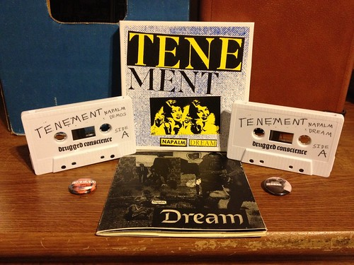Tenement - Napalm Dream - Double Cassette /100 by Tim PopKid