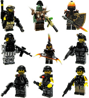 Brick Mercenaries (Batch #3)