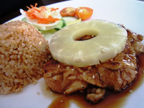 Anson terrayaki chicken chop