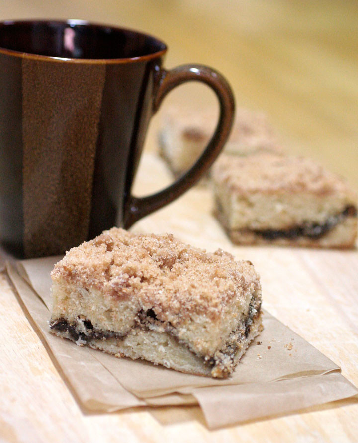 Extra Crumb Cinnamon-Streusel Sour Cream Coffee Cake from Joy the ...