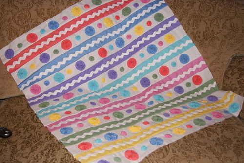Baby Quilt Top by sandyb72357