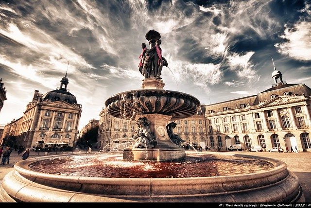 Bordeaux : Place de la Bourse : Sigma 10/20 mm