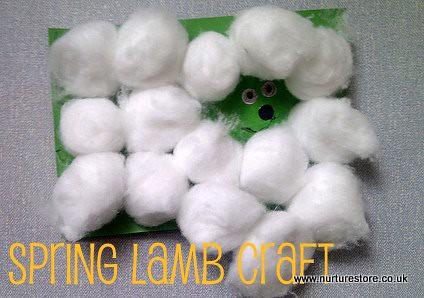 spring lamb craft 8