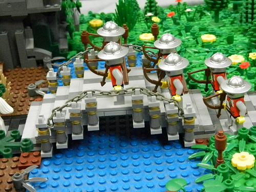 Lego Mountain Fortress 021