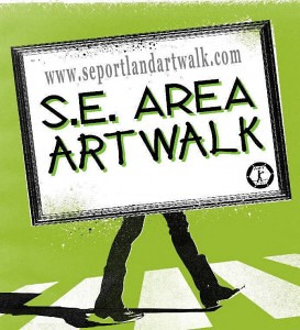 SE Portland Area ArtWalk 2012 | Free, 100 Artists, Hawthorne, Clinton, Division, Powell