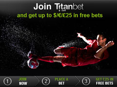 Titan Bet Welcome Free Bets Bonus