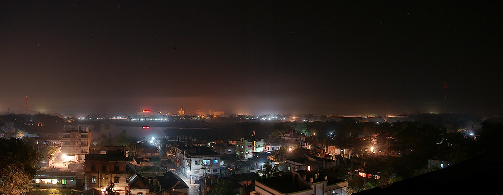 Dhamrai Night Panorama