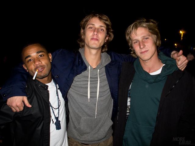 Winsor James, Julian Davidson, Nick Garcia