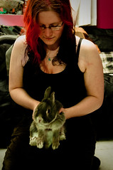 365: 2012/02/29 - Fido, the loyal bunny of grievous doom