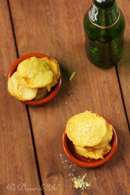 Sweet potatoes tempura