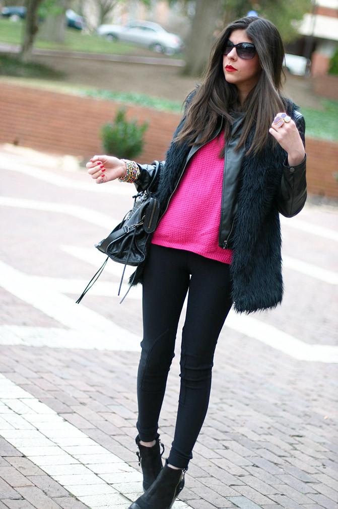 Armani, Neon Pink, Balenciaga classic city, Fluo Fashion, American Apparel, Topshop ambush