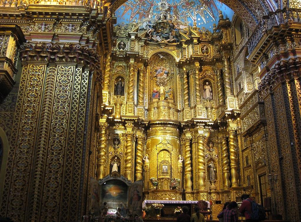 Quito: Iglesia de la Compañía