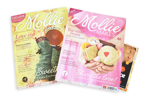 Mollie Makes Issue 4 and 10
