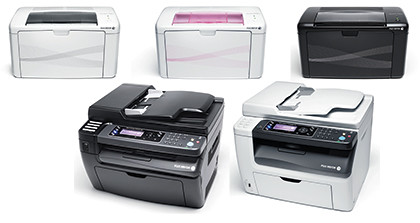 Fuji Xerox DocuPrint printers and multifunction printers. Level 4, Hall 401, Booth 8468 at the IT Show 2012.