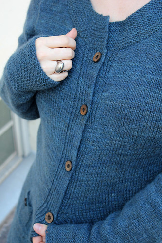Ink & indigo cardigan