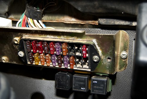 wolf tul hs 300tdi help - page 2 - land rover zone land rover defender fuse box upgrade