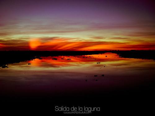 Salida de la laguna by Ivan Pawluk