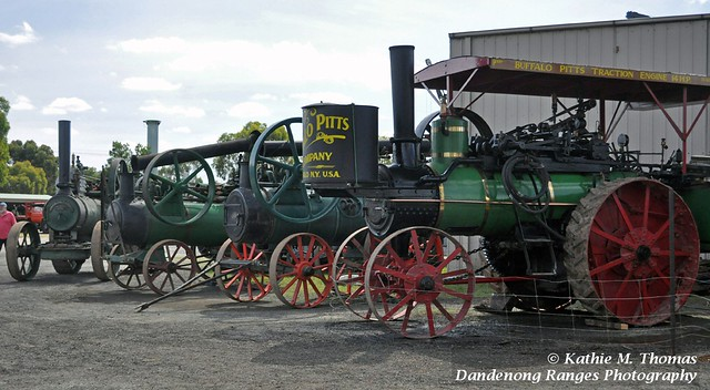 Steam engine lineup