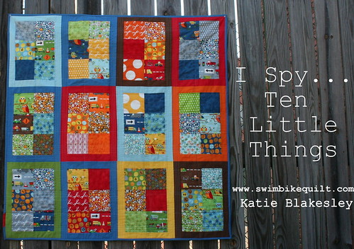 I-Spy Ten Little Things @modabakeshop