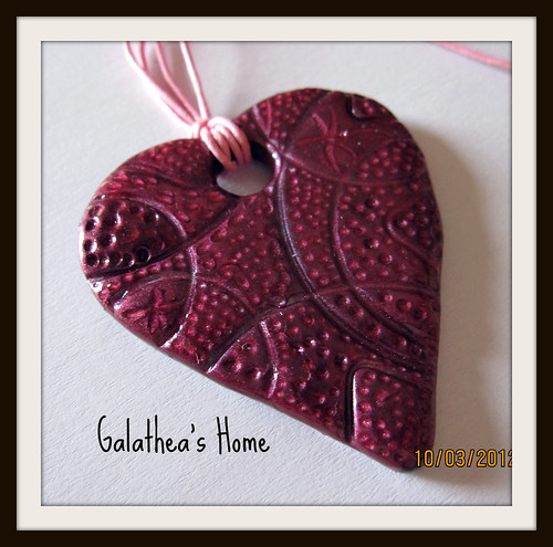 Corazón textura rosa by Rebeca_Rodriguez