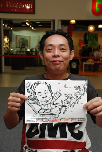 "caricature live sketching for ""Make Your Christmas Shine at Liang Court"" - 13"