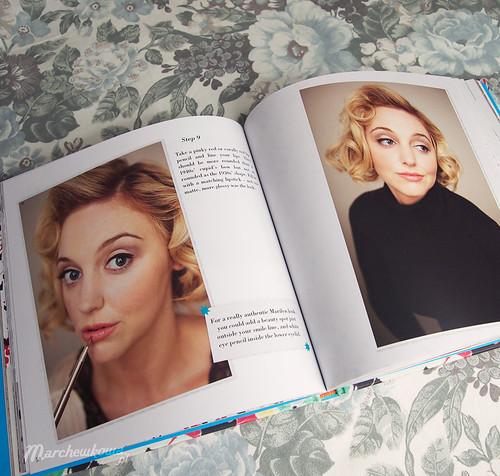 blog, marchewkowa,Style Me Vintage - Make-up, książka, makijaż, instrukcje, retro, vintage