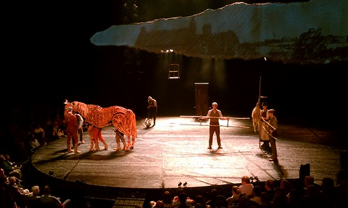 Seeing horses act on stage? Totally amazing! War Horse @ Lincoln Center.