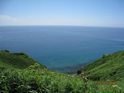 積丹海岸線