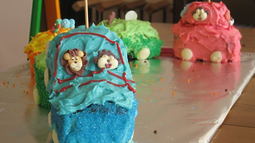 Choo chop train cake