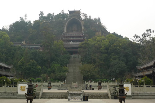 Giant Buddha - Rongxian, Sichuan, China