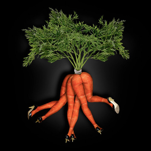 Dancing Bunch of Carrots by John Wilhelm is a photoholic