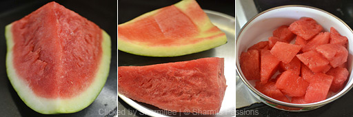 Watermelon Juice Recipe - Step1