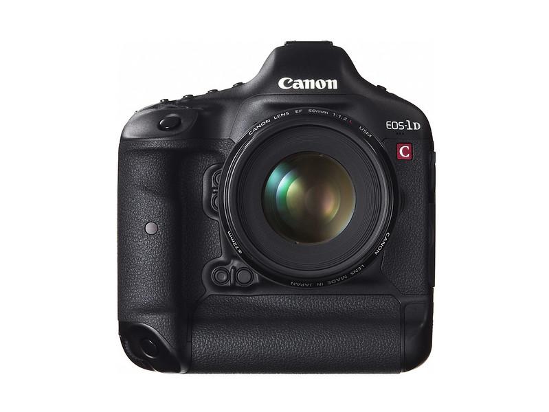 Canon EOS-1D C Front