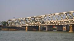 girder bridge, river, truss bridge, pier, waterway, bridge,