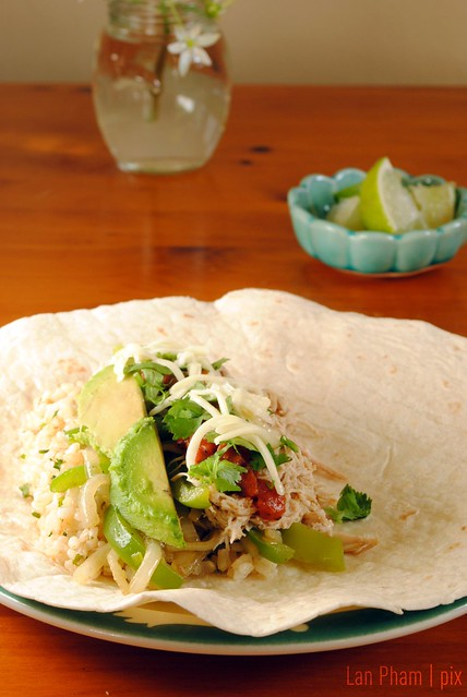 Homemade Chipotle Burrito