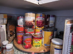 Lazy Susan cans